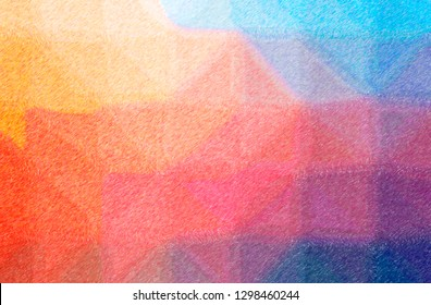 Abstract illustration of red Color Pencil High Coverage background