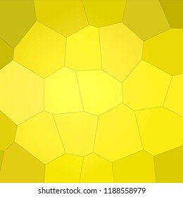 Abstract illustration of Square peridot  pastel Giant Hexagon background, digitally generated
