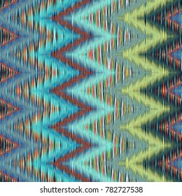 Abstract image, colorful graphics and tapestry. It can be used as a pattern for the fabric