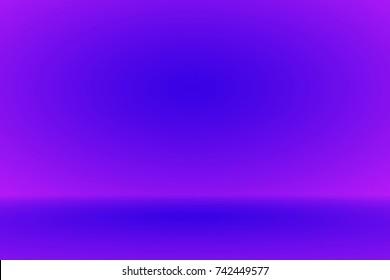 Abstract indigo dark blue navy gradient background empty space studio room for display ad product website template wallpaper