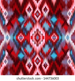abstract Intricate seamless pattern background, ethnic ornamental fabric design