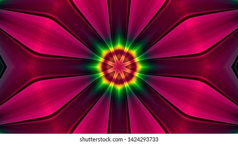 Abstract kaleidescopic club,party,stage lights are well suited for tv shows, concerts ,music protections , vj projections at parties in night clubs, discos and  trance events