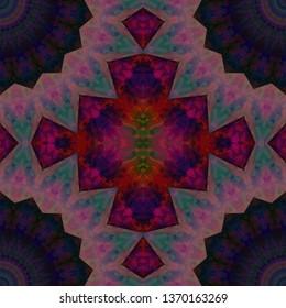 abstract kaleidoscope background