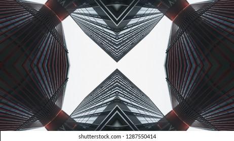 Abstract kaleidoscope background. Beautiful kaleidoscope seamless pattern. Multicolor mosaic texture. Seamless kaleidoscope texture. Unique kaleidoscope design.