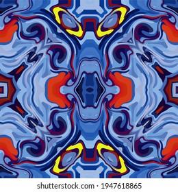 Abstract kaleidoscope background. Multicolor geometric kaleidoscope backdrop. Colorful kaleidoscope texture. Decorative kaleidoscopic ornament. Colorful ornament background.