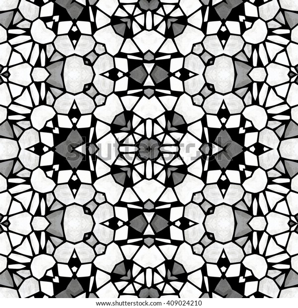 Abstract Kaleidoscopic Structure Antistress Coloring Book ...