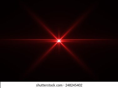 Abstract laser star red (super high resolution)