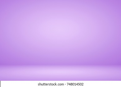 Abstract lavender purple with light gradient background empty space studio room for display product ad website template wallpaper poster
