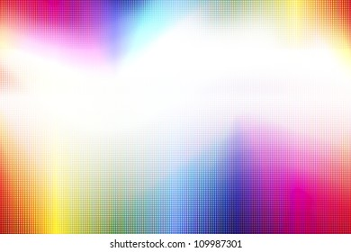 abstract led rainbow colored background.