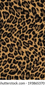 Abstract Leopard pattern seamless design