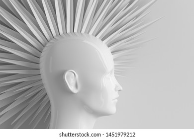 Mohawk Hairstyle Images Stock Photos Vectors Shutterstock