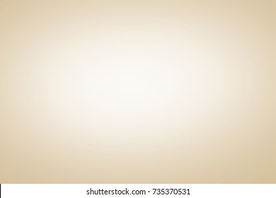 Abstract light beige brown and cream gradient room empty background used for wallpaper display product ad and website