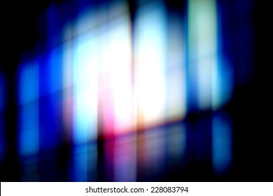 Abstract light in the dark background.