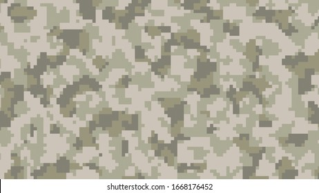 abstract light green digital camouflage , army forest color theme