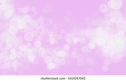 Abstract light pink color background with bokeh effect