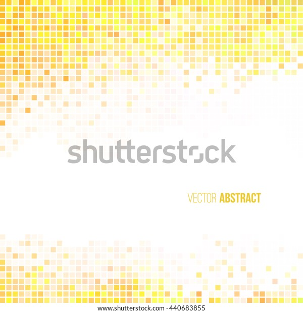 Abstract light yellow and white geometric background