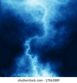 Abstract lightning background