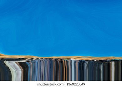 abstract liquefaction background