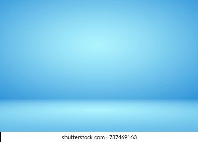 Abstract luxury beautiful dark blue gradient background backdrop used for display product ad and website template