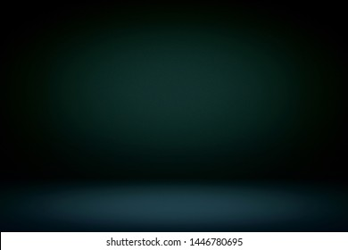 Abstract Luxury Dark Room Background Using for Product Presentation Backdrop.