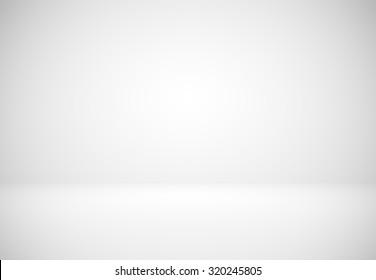 Abstract luxury dark white grey and black gradient with border black vignette background Studio backdrop - using as white backdrop background