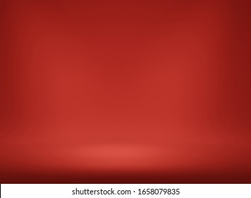 Abstract Luxury gradient background empty space studio room for display product ad website, Smooth Dark red with Black vignette Studio Banner. platform Scene show product presentation. 3d render