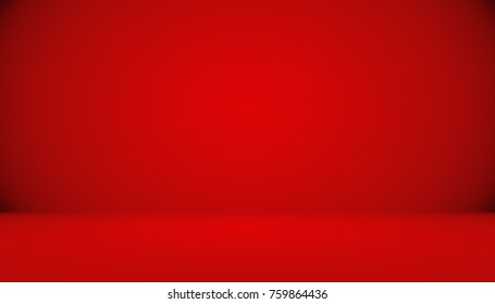 Abstract luxury Red background Christmas Valentines layout design,studio,room, web template ,Business report with smooth circle gradient color.