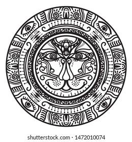 Calendario Inca Simbolos.Imagenes Fotos De Stock Y Vectores Sobre Calendario Maya