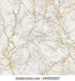 abstract marbling texture, white marble with golden veins, artificial stone illustration, hand painted background, wallpaper