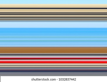Abstract marine seascape wallpepar background