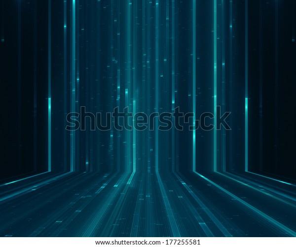 Abstract matrix like background