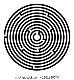Circle Maze Images, Stock Photos & Vectors | Shutterstock