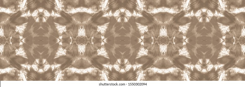 Abstract Mexican Ethnic Backdrop. Craft Dirty Wallpaper Artwork. Bleached Textile. Texture Watercolour. Graphic Style. Nippy Yellow, Grey On Old Paper.