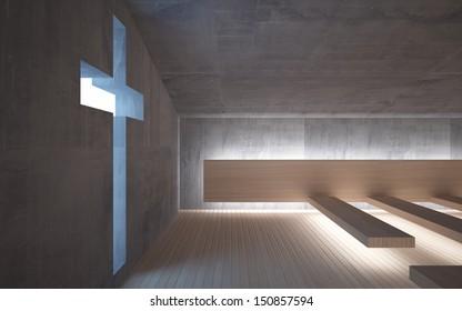 Modern Church Interior High Res Stock Images Shutterstock