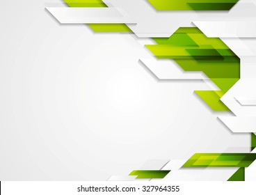 Abstract modern geometric bright design