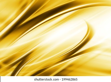 Abstract Modern Golden And White Background
