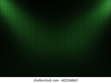 Abstract modern green carbon fiber textured material design for background, wallpaper, graphic design