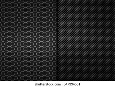 Abstract modern grey perforated metal plate textured material design for background, wallpaper, graphic design