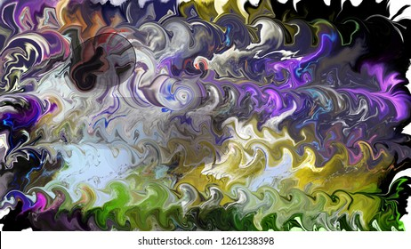 Abstract modern grungy bright painting background