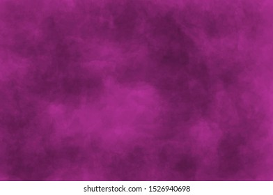 Abstract modern painting . Dry brush painted paper , canvas , wall .Textured background in magenta tones.