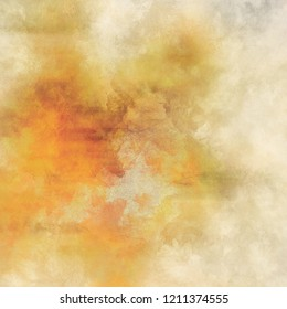 Abstract modern Watercolor texture. Colorful graphic background design. Digital Art painting.