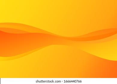abstract modern wave orange background wallpaper