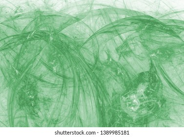 Abstract monochrome green toned background