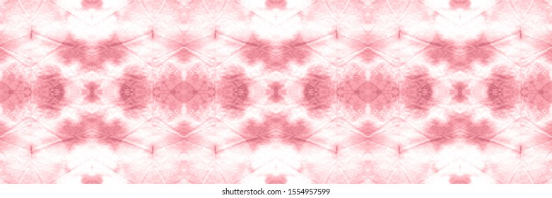 Abstract Morocco Ethnic Decor. Trendy Textured Wallpaper. Pattern Ornamental. Wintery Crimson, Pale On Old Paper. Texture Watercolour. Drawing Style.