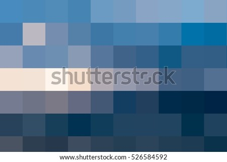 Royalty Free Stock Illustration of Abstract Mosaic Background Blue