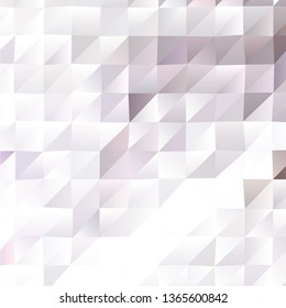 Abstract mosaic polygon background