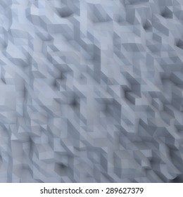 abstract mosaic wallpaper GREY 3D displacement