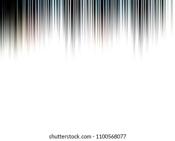 Abstract mostly black and white blurred lined image, great for design projects and background