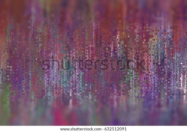 Abstract multicolored background with bokeh defocused lights. illustration beautiful.