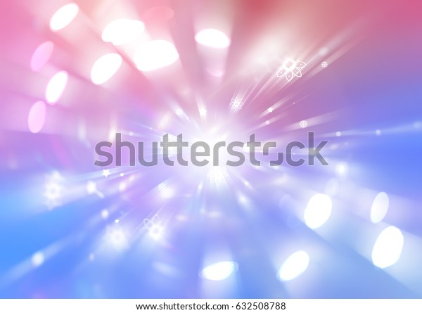 Abstract multicolored background. Explosion star. illustration digital.